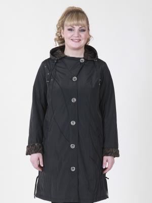 Пальто Нелли VIKO. Цвет: темно-синий