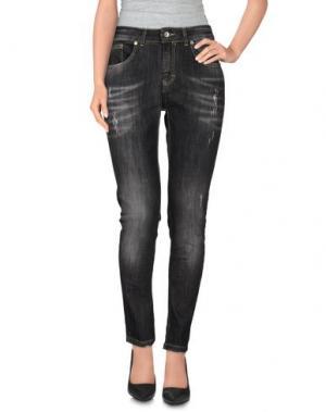 Джинсовые брюки KARTIKA. Цвет: черный