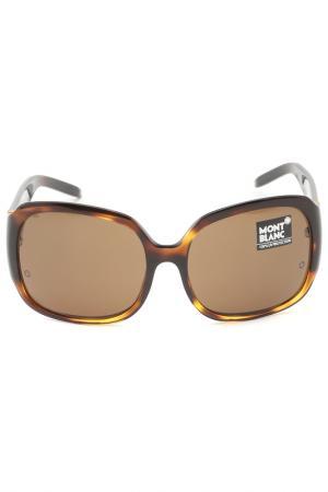 Очки солнцезащитные Montblanc. Цвет: 96