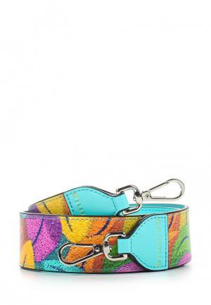 Ремень для сумки Cromia. Цвет: бирюзовый