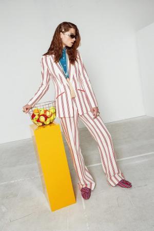 Хлопковые брюки Stella Jean. Цвет: multicolor
