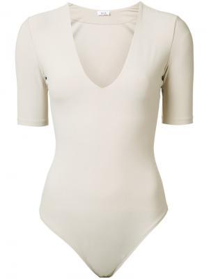 Ludlow bodysuit Alix. Цвет: телесный