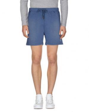 Повседневные шорты BOWERY. Цвет: пастельно-синий