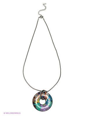 Колье Lovely Jewelry. Цвет: зеленый, коричневый, синий