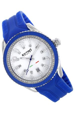 Наручные часы Extro. Цвет: синий