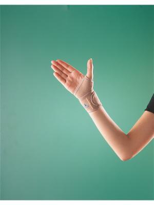 Бандаж лучезапястный мягкий, с петлей для большого пальца, 2083, ОРРО OppO Medical Inc.. Цвет: бежевый