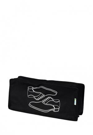 Система хранения для обуви Homsu. Цвет: черный