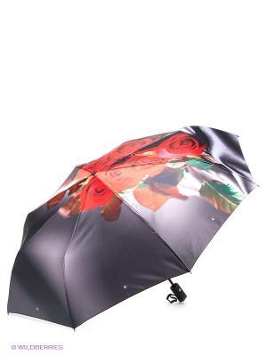 Зонт Flioraj. Цвет: темно-серый, красный