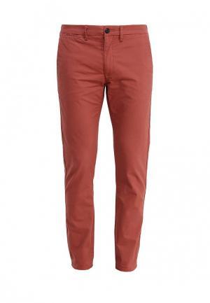 Брюки Burton Menswear London. Цвет: коралловый