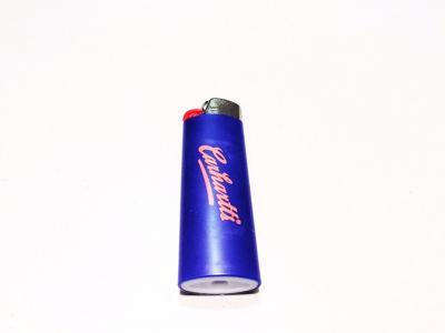 Зажигалка  WIP Bic Lighter Blue Carhartt. Цвет: синий
