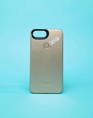 Lumee Золотистый матовый чехол для iPhone Plus от II. Цвет: мульти