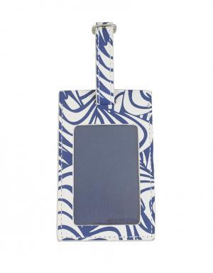 Багажная бирка Diane von Furstenberg. Цвет: синий
