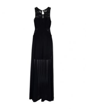 Длинное платье NO SECRETS. Цвет: темно-синий