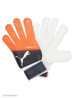 Перчатки вратарские evoPOWER Grip 3.3 RC Puma. Цвет: красный, черный