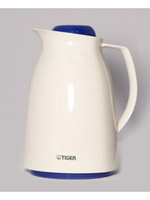 Термос метал. 1,0л. со стеклянной колбой Изящество Tiger corporation. Цвет: молочный