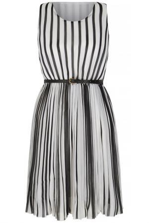 Платье Mela london. Цвет: black and white