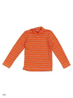 Водолазка Babycollection. Цвет: оранжевый