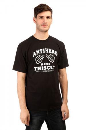 Футболка  This Guy Black/White Antihero