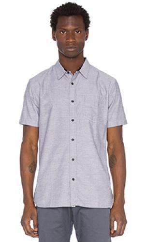 Рубашка vern ourCASTE. Цвет: серый