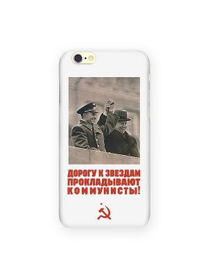 Чехол для IPhone 6 Дорога к звездам Mitya Veselkov. Цвет: белый, бежевый