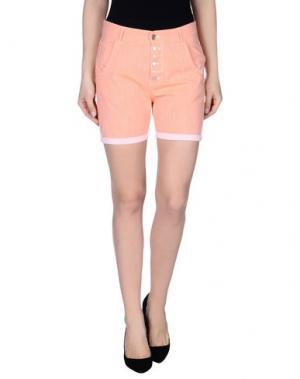 Повседневные шорты JCOLOR. Цвет: оранжевый