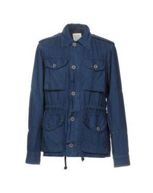 Куртка ORIGINAL VINTAGE STYLE. Цвет: синий