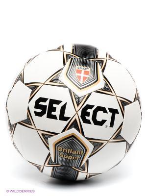 Дисплейный мяч Select. Цвет: черный, белый