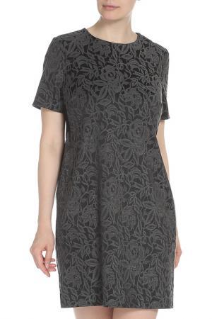 Платье TWIN-SET. Цвет: серый