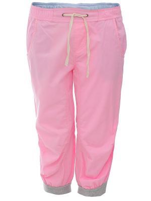 Капри Oodji. Цвет: розовый