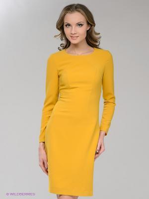 Платье Marlen. Цвет: желтый