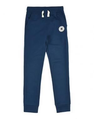 Повседневные брюки CONVERSE ALL STAR. Цвет: темно-синий