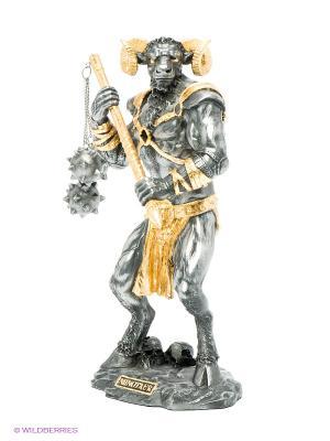 Статуэтка Минотавр Veronese. Цвет: темно-серый, золотистый