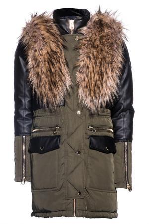 Куртка Point Zero. Цвет: зеленый