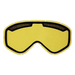 Линза для маски  Majestic Lens Yellow Anon. Цвет: желтый