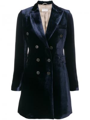 Пальто Helena Kiltie. Цвет: синий