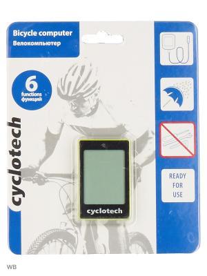 Велокомпьютер Cyclotech. Цвет: желтый, черный