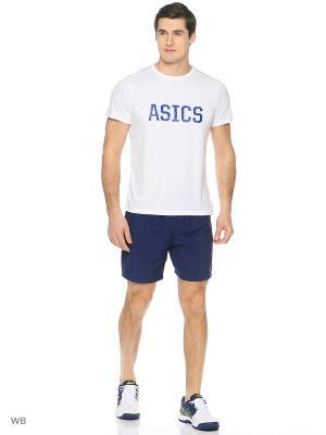 Шорты Woven Short 7In ASICS. Цвет: индиго