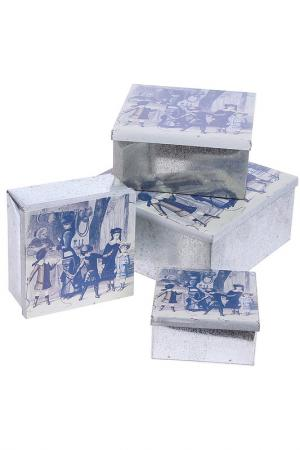 Набор коробок Семья, 4 шт. Davana. Цвет: белый