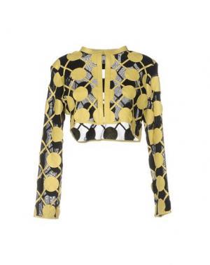 Пиджак CABAN ROMANTIC. Цвет: желтый