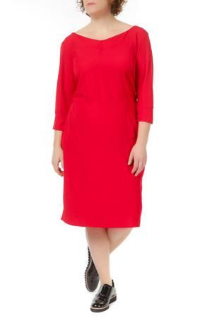 Платье Melisita. Цвет: red