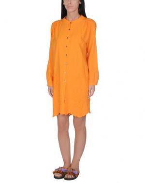 Пляжное платье BLUGIRL BLUMARINE BEACHWEAR. Цвет: оранжевый