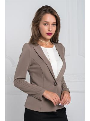 Жакет VERA NOVA. Цвет: светло-коричневый