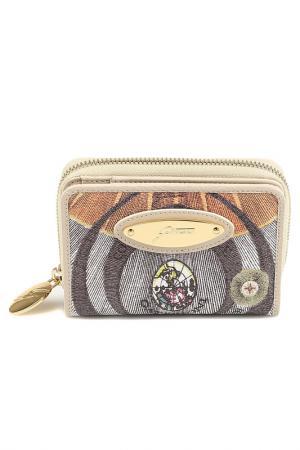 Wallet Gattinoni. Цвет: beige, brown, green