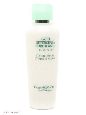 Молочко для очищения кожи Frais Monde. Цвет: белый