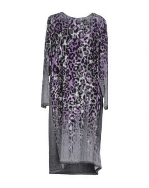 Платье до колена STIZZOLI. Цвет: фиолетовый