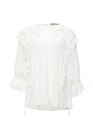 Блуза Lusio. Цвет: белый