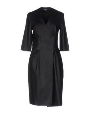 Платье до колена JITROIS. Цвет: черный