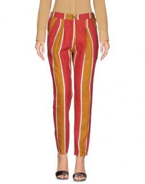 Повседневные брюки GIORGIA & JOHNS. Цвет: красный