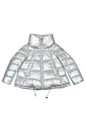 Куртка PEGGY-HO. Цвет: серебряный