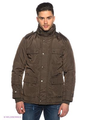 Куртка Marville. Цвет: коричневый